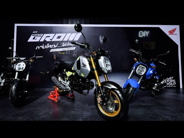 Honda Unveils New Honda GROM – New Mini Bike for New Riding Excitement