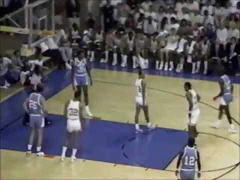 1987 - UNC Tar Heels vs. UCLA Bruins Men's Basketball Alumni