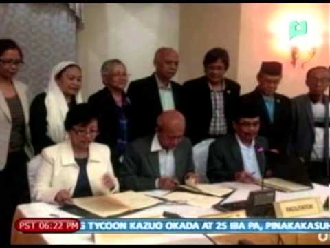 ARMM Gov. Hataman, ikinatuwa din ang paglagda sa wealth sharing annex ng GPH-MILF peace agree...