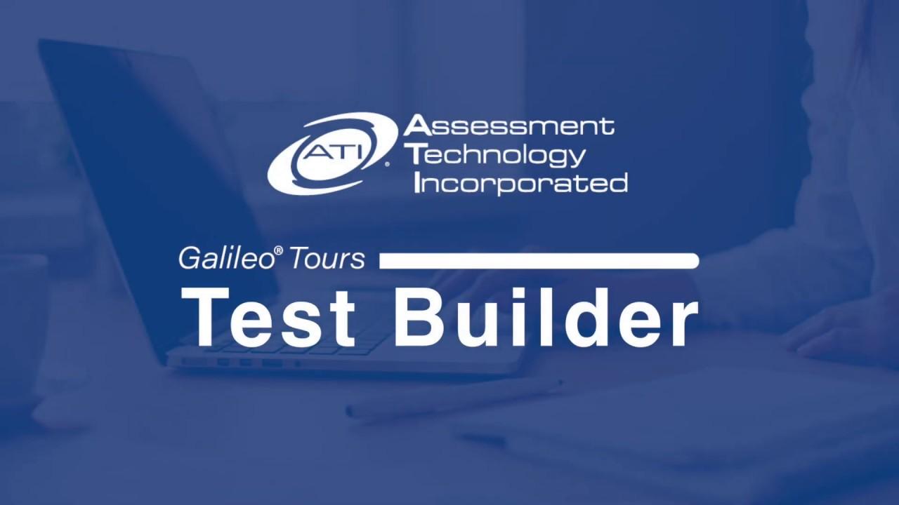 Comprehensive Assessment - ATI Galileo K-12 Online