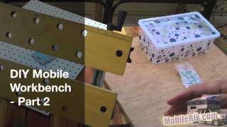 "Diy Portable ""mobile Workbench"" For Your Camper (or Tiny House/apartment) - Part 2"