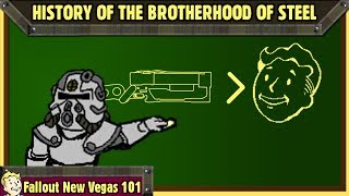 Fallout New Vegas 101 : History of The Brotherhood of Steel