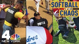 Chaos Breaks Out at NJ Softball Game, 2 Arrested | NBC New York