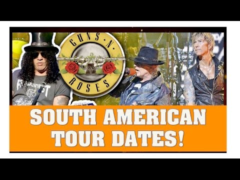Guns N' Roses Reunion News: Tour Dates For South America Announced & More Rumors!