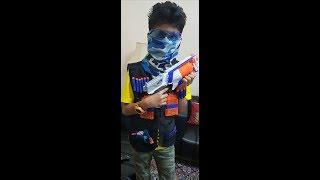 Unboxing Nerf N-Strike Elite Tactical Vest Kit   AAF Films