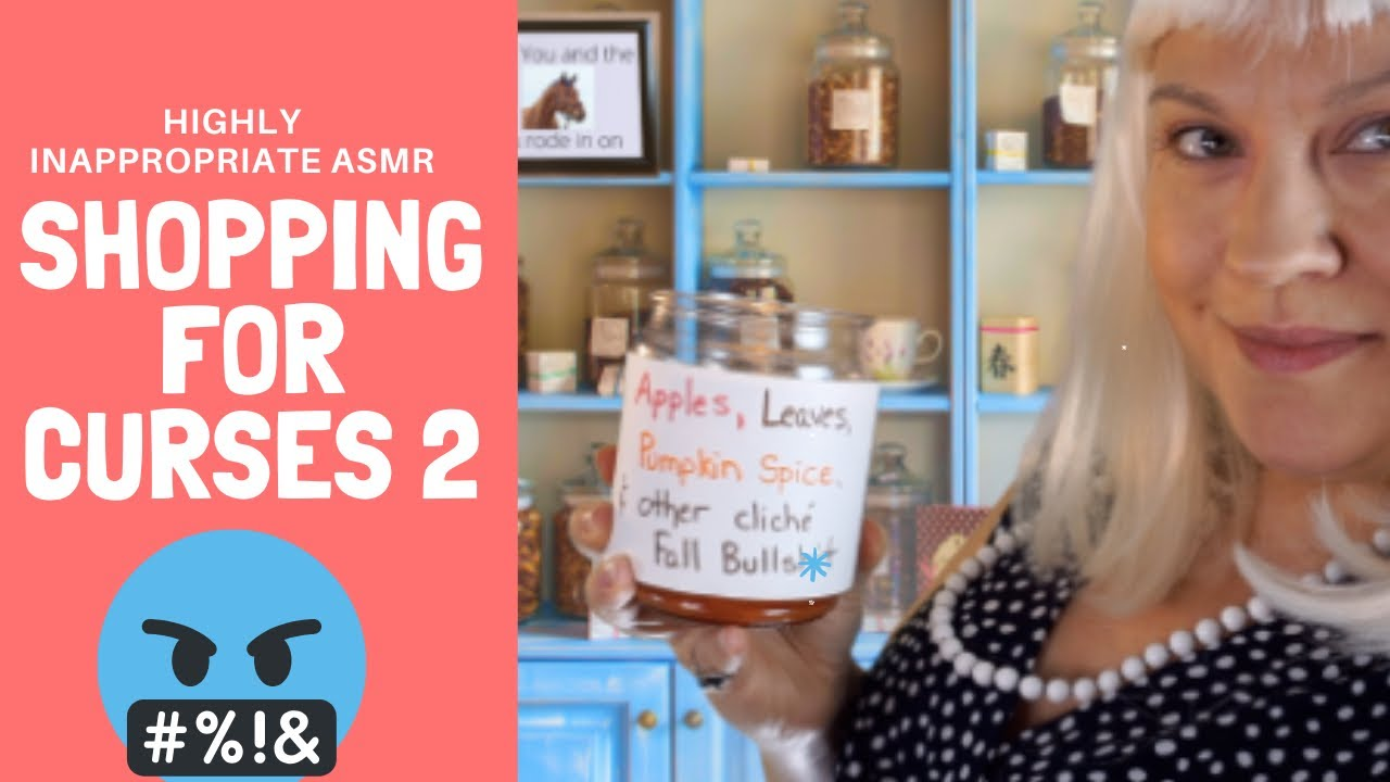 Shopping for Curses 2 - Highly Inappropriate ASMR (Soft Spoken RP)