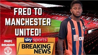 BREAKING NEWS - MANCHESTER UNITED IN ADVANCED TALKS TO SIGN FRED - SKY SPORTS SOURCES!