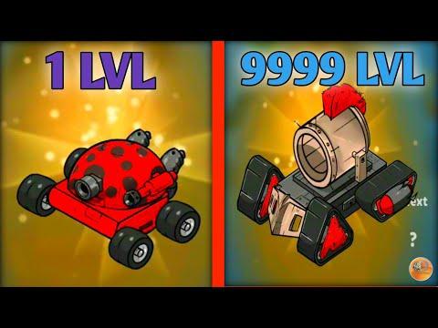 Merge Tanks! MAX LEVEL TANKS EVOLUTION Merge Tanks: Best Military Vehicles Merger Game