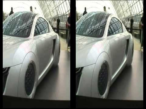 Audi RSQ I Robot Car!! in 3D !!!