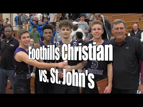 Foothills Christian vs. St. John's (Washington, D.C.), UA Holiday Classic Final, 12/30/16