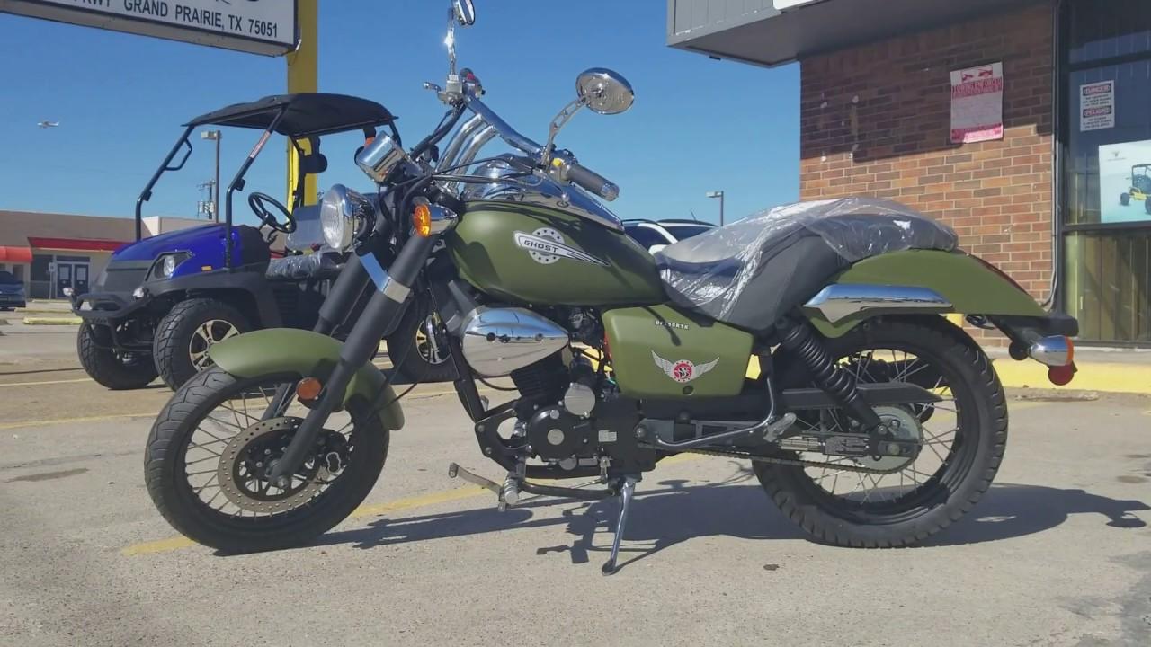 Ghost 250cc street legal | chopper | cruiser| bike in depth review |  overview