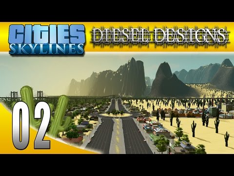 Cities: Skylines: S6E2: It Begins in the Desert! (City Building Series 60FPS)