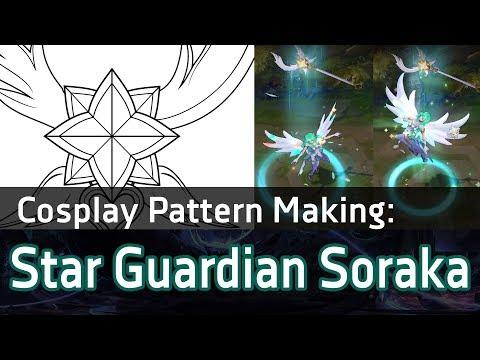 [Cosplay Pattern Vector] Star Guardian Soraka's Staff (New Soraka Skin) - League of Legends