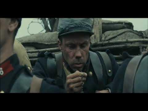 WWI Trench Warfare Scene -