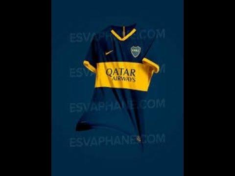 sale retailer 88d38 84059 Boca Juniors 19 20 Home Kit Leaked