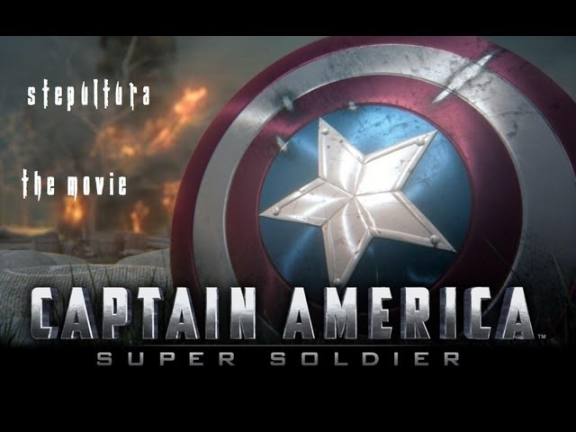 Captain America Super Soldier [Game Movie] {HD} Travel Video