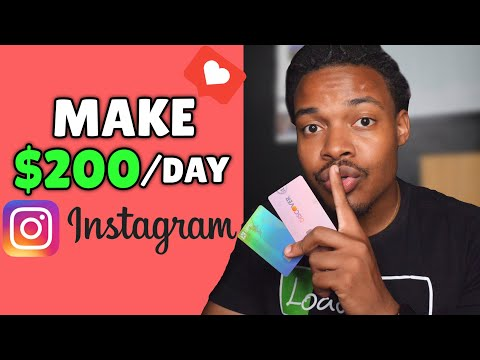5 Real Ways To Make Money On Instagram | Side Hustle