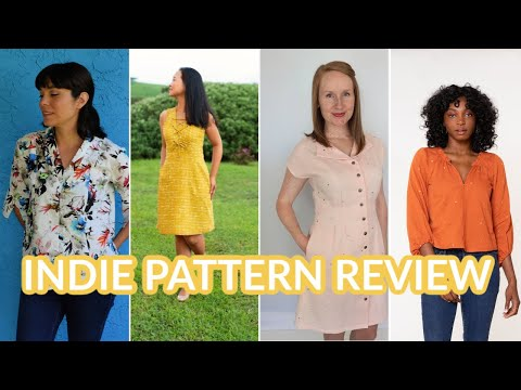 August Indie Sewing Patterns  |  First Impression Review
