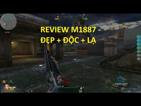 Bình Luận Truy Kích | Review Súng Mới M1887 Cùng 4x Cận Chiến ✔