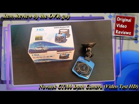Novatek GT300 Dash Camera (Video Test HD)
