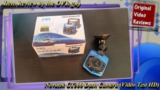 Novatek GT300 Dash Camera (Video Test HD)