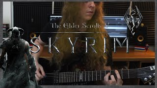 SKYRIM - The Dragonborn Song (Dovahkiin) | METAL COVER