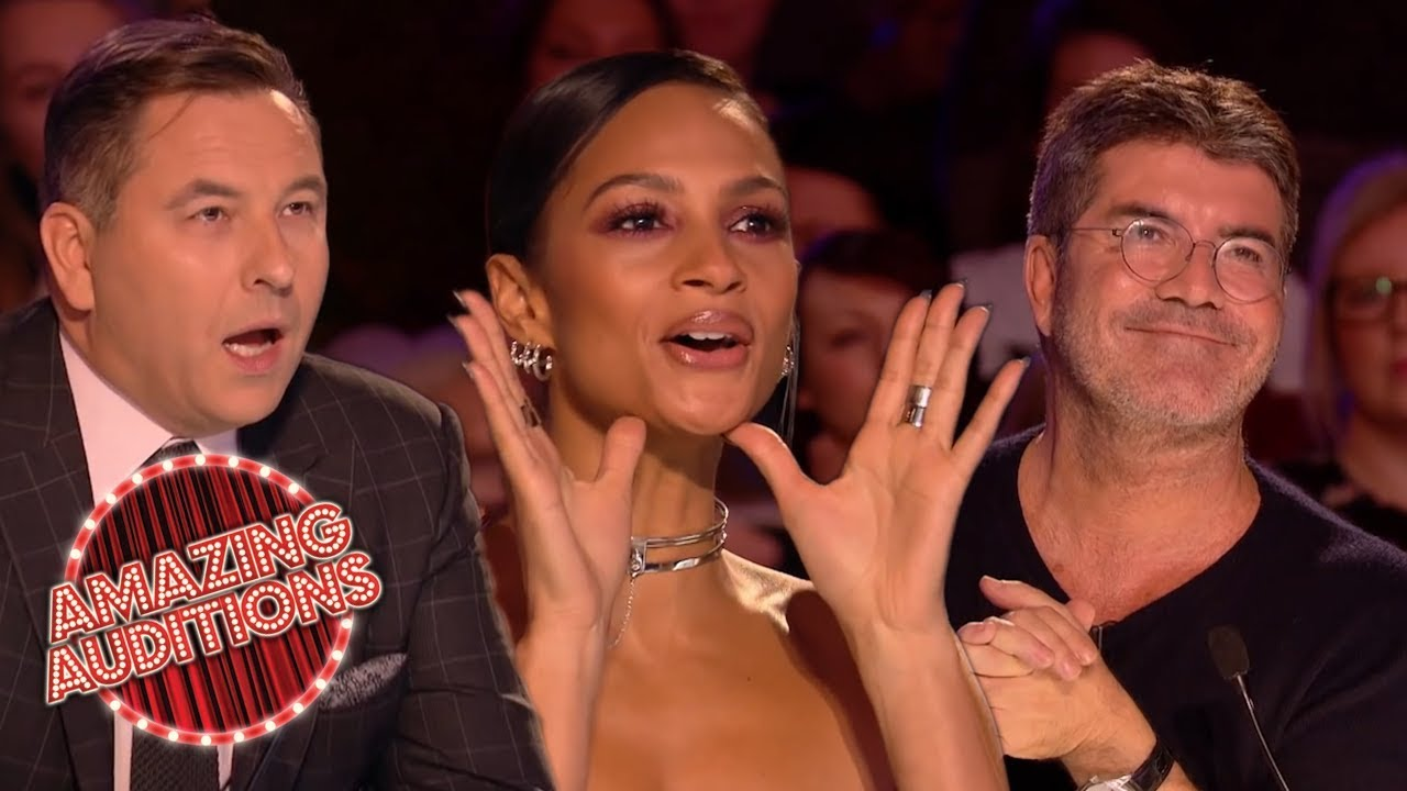 PITCH PERFECT Singers On America's Got Talent And Britain's Got Talent   Amazing Auditions