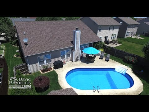 Immaculate Ranch With Swimming Pool For Sale In Franklin Township, Indianapolis