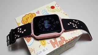Q528 Y21 Smart baby watch GPS + WI FI умные сенсорные часы с фонариком камерой новинка трекер обзор
