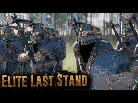 Can This ELITE Dwarf Army Defeat The Orcs Of Mordor - Total War Rise Of Mordor
