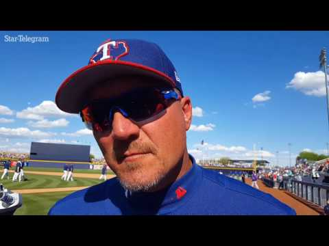 Jeff Banister pleased with Nick Martinez's Saturday outing