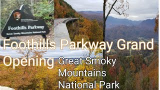 Foothills Parkway Opening Day Missing Link Walk Thru