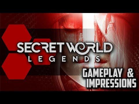 Secret World Legends - Closed Beta Impressions & Gameplay Footage - TheHiveLeader