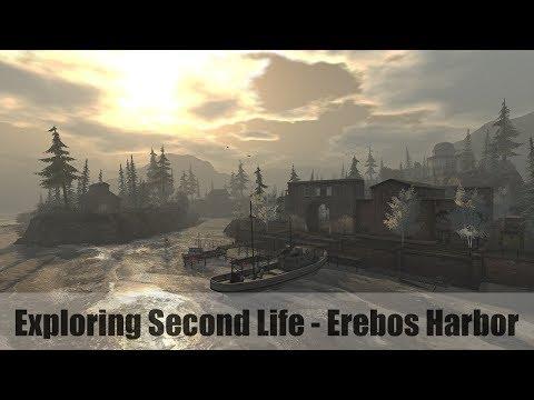 Exploring Second Life - Erebos Harbor - #SecondLifeChallenge