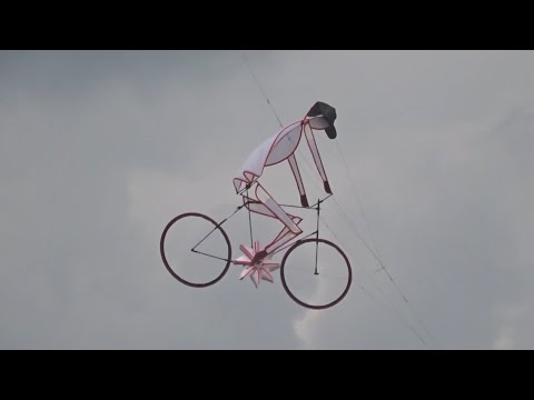 The mystical bike kite