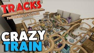 NEW FAVORITE GAME, Wooden Block Railroad | Tracks Gameplay