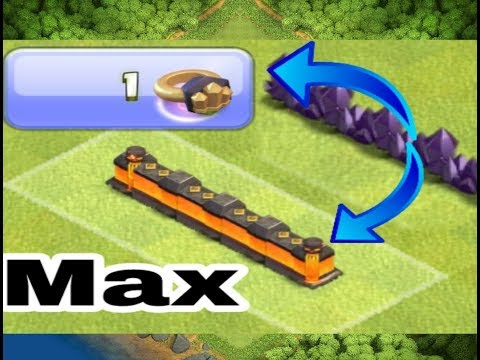 Let's Use Wall ring And runes of Gold | Clash of Clans