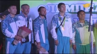 Олимпиадашыларды астаналықтар қарсы алды