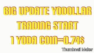 Big Profit receive in Yobit Exchange YoDollar coin trading start