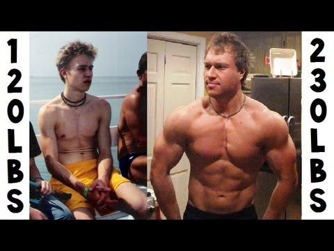 120lbs (Anorexia) to 230lbs Transformation Story | Furious Pete