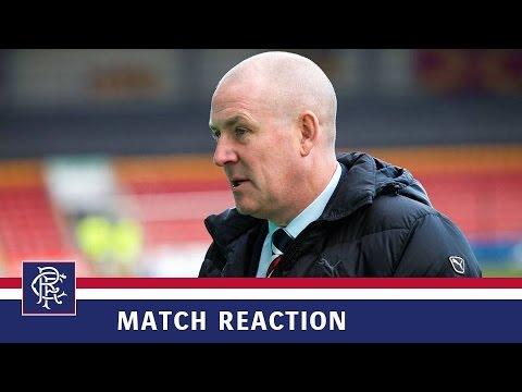 Download REACTION | Mark Warburton | Partick Thistle 1-2 Rangers