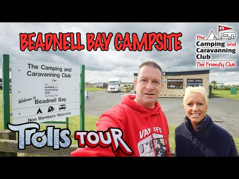Beadnell Bay Camping