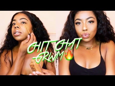 HOW TO LOOK LIKE A SNACK  CHIT-CHAT GRWM  WHAT HAPPENED W ME & FLIGHT
