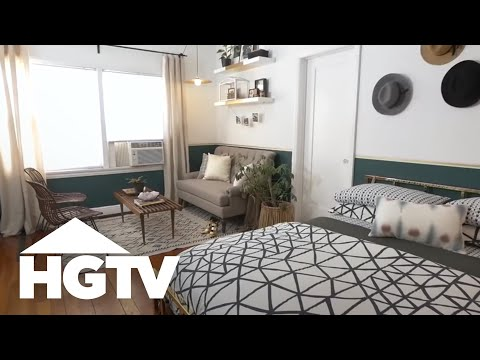 Stylish Studio Apartment Makeover – HGTV