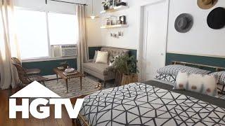 Stylish Studio Apartment Makeover - HGTV