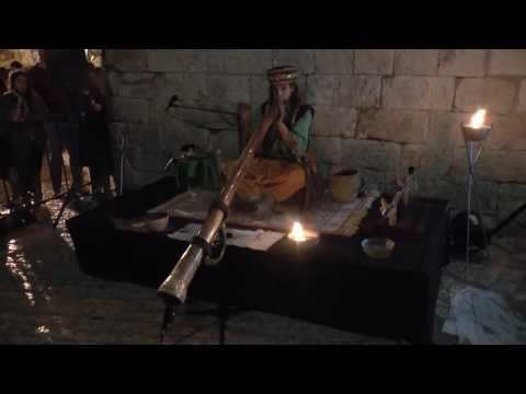 Aborigine musical instrument at Old City Jerusalem