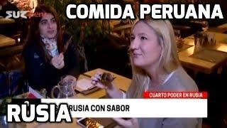 Comida peruana en Rusia