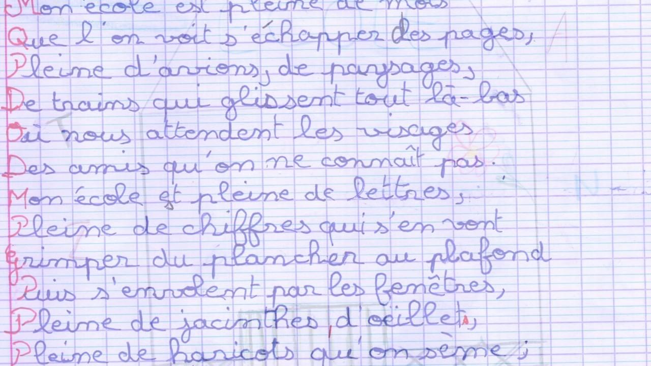 Populaire Mon école de Pierre Gammara - YouTube RH17