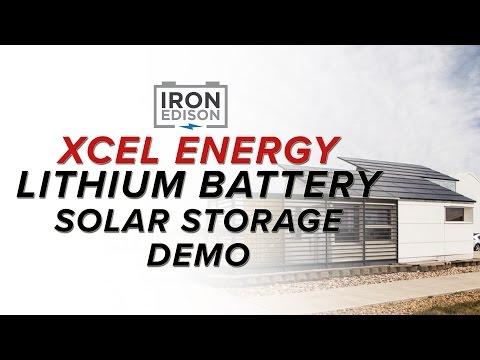 System Spotlight:  Xcel Energy Lithium Iron Solar Battery