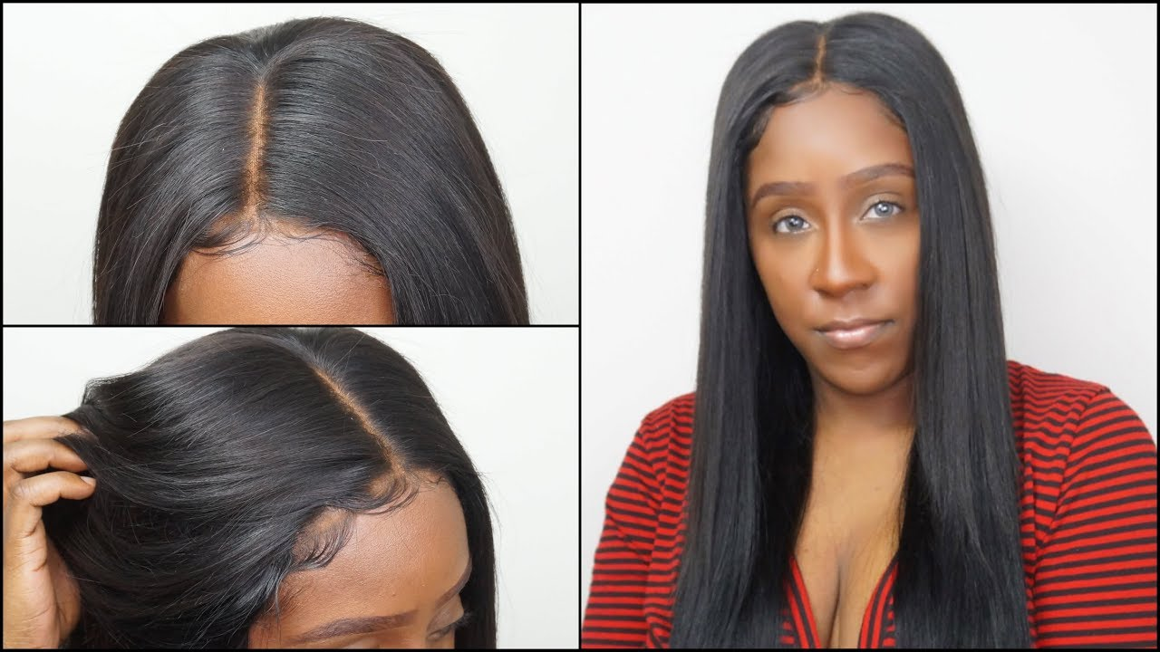 How To Make Your Closure Look Like A Frontal W Bleaching Baby